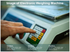 Image Of Electronic Weighing Machine Ppt PowerPoint Presentation Slides Aids