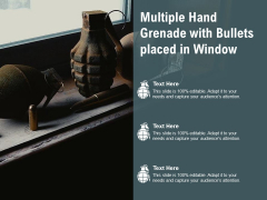 Image Of Grenade Launchers At Window Ppt PowerPoint Presentation Gallery Outline PDF