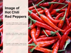 Image Of Hot Chili Red Peppers Ppt PowerPoint Presentation Inspiration Grid