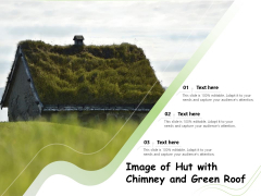 Image Of Hut With Chimney And Green Roof Ppt PowerPoint Presentation Infographic Template Example Introduction PDF