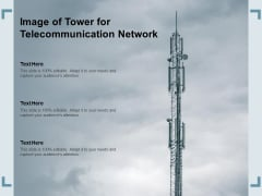 Image Of Tower For Telecommunication Network Ppt PowerPoint Presentation Model Structure