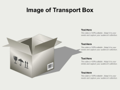 Image Of Transport Box Ppt PowerPoint Presentation Infographic Template Layout