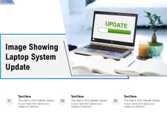 Image Showing Laptop System Update Ppt PowerPoint Presentation Pictures Images