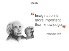 Imagination Is More Important Than Knowledge Ppt PowerPoint Presentation Portfolio