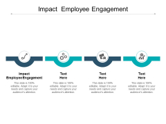Impact Employee Engagement Ppt PowerPoint Presentation Ideas Layout Ideas Cpb