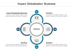 Impact Globalization Business Ppt PowerPoint Presentation Inspiration Styles Cpb