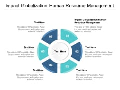 Impact Globalization Human Resource Management Ppt PowerPoint Presentation Summary Template Cpb