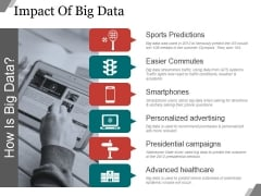 Impact Of Big Data Ppt PowerPoint Presentation Background Image