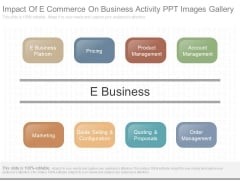Impact Of E Commerce On Business Activity Ppt Images Gallery