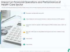 Impact On Financial Operations And Performance Of Health Care Sector Ppt Styles Graphic Tips PDF