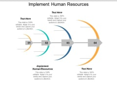 Implement Human Resources Ppt PowerPoint Presentation Infographic Template Summary Cpb