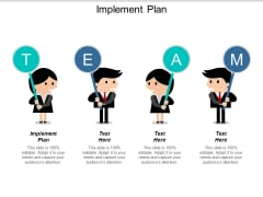 Implement Plan Ppt PowerPoint Presentation Inspiration Files Cpb