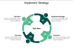 Implement Strategy Ppt PowerPoint Presentation Layouts Cpb
