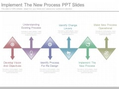 Implement The New Process Ppt Slides
