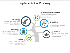 Implementation Roadmap Ppt PowerPoint Presentation Tips Cpb