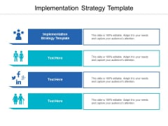 Implementation Strategy Template Ppt PowerPoint Presentation Infographic Template Outfit Cpb