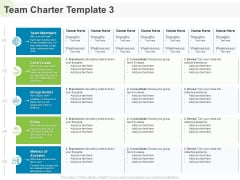Implementing Human Resources HR Best Practices Strategy Team Charter Values Ppt Layouts Layout Ideas PDF