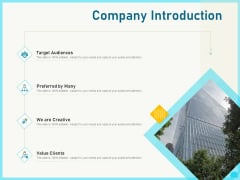 Implementing Service Level Management With ITIL Company Introduction Ppt PowerPoint Presentation Pictures Show PDF