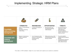 Implementing Strategic Hrm Plans Ppt Powerpoint Presentation Infographics Guide