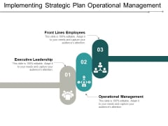 Implementing Strategic Plan Operational Management Ppt Powerpoint Presentation Model Show
