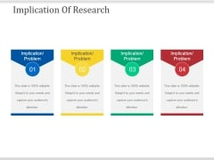 Implication Of Research Ppt PowerPoint Presentation File Background Image