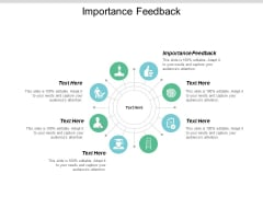 Importance Feedback Ppt PowerPoint Presentation File Background Cpb