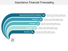 Importance Financial Forecasting Ppt PowerPoint Presentation Slides Files Cpb