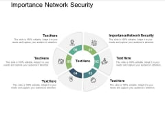 Importance Network Security Ppt PowerPoint Presentation Portfolio Graphic Images Cpb