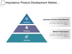 Importance Product Development Market Technologies Ppt PowerPoint Presentation Ideas Demonstration