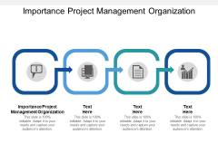 Importance Project Management Organization Ppt PowerPoint Presentation Gallery Design Inspiration Cpb