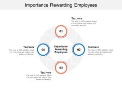 Importance Rewarding Employees Ppt PowerPoint Presentation Files Cpb