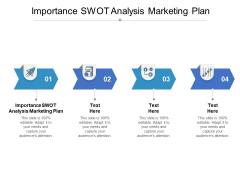Importance SWOT Analysis Marketing Plan Ppt PowerPoint Presentation Show Example File Cpb