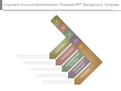 Important Account Administration Template Ppt Background Template
