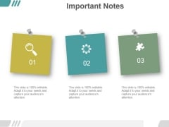 Important Notes Ppt PowerPoint Presentation Background Images