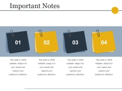 Important Notes Ppt PowerPoint Presentation Example File