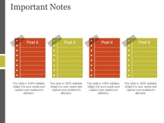 Important Notes Ppt PowerPoint Presentation File Slideshow