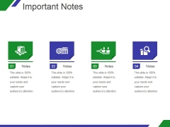 Important Notes Ppt PowerPoint Presentation Files