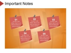 Important Notes Ppt PowerPoint Presentation Gallery Introduction