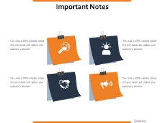 Important Notes Ppt PowerPoint Presentation Gallery Slide Download
