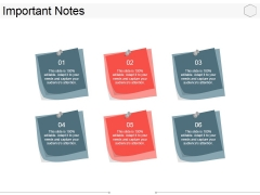 Important Notes Ppt PowerPoint Presentation Icon Samples