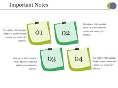 Important Notes Ppt PowerPoint Presentation Ideas Good