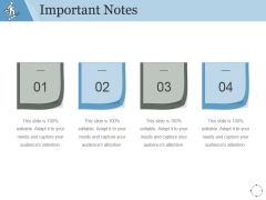 Important Notes Ppt PowerPoint Presentation Information