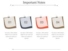Important Notes Ppt PowerPoint Presentation Inspiration