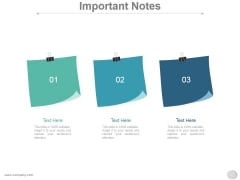 Important Notes Ppt PowerPoint Presentation Introduction