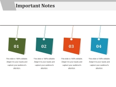 Important Notes Ppt PowerPoint Presentation Layouts Grid