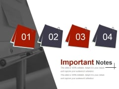 Important Notes Ppt PowerPoint Presentation Portfolio Backgrounds