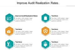 Improve Audit Realization Rates Ppt PowerPoint Presentation Summary Outfit Cpb