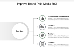 Improve Brand Paid Media ROI Ppt PowerPoint Presentation Infographic Template Layout Ideas Cpb