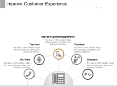 Improve Customer Experience Ppt PowerPoint Presentation Model Ideas Cpb