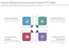 Improve Efficiency Environmental Goodwill Ppt Ideas
